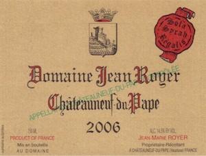 Royer Chateauneuf-du-Pape Cuvee Prestige