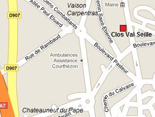 Domaine clos val seille - Office de tourisme chateauneuf du pape ...