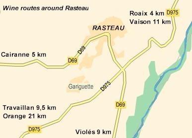 1937: vinene fra rasteau må kaldes cotes du rhone